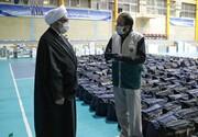 بازدید تولیت آستان قدس از روند تهیه ۵۰ هزار بسته کمک معیشتی و بهداشتی ویژه محرومان
