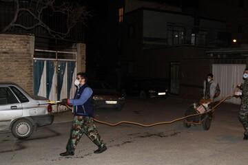 تصاویر / فعالیت های جهادی طلاب همدانی در آخرین ساعات سال ۹۸
