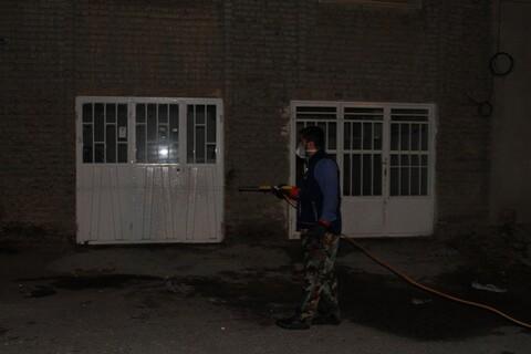 تصاویر / فعالیت های جهادی طلاب همدانی در آخرین ساعات سال 98