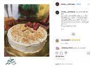 اولین کیک تولد سردار دلها پس از شهادتش