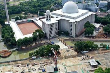 مهمترین مسجد جنوب شرق آسیا نیز تعطیل شد