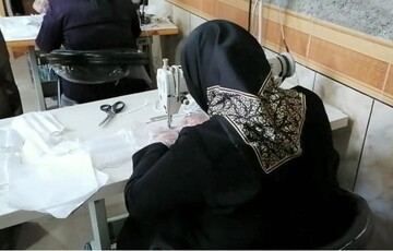 فیلم | تهیه و توزیع ماسک توسط گروه های جهادی در جنت شهر استان فارس