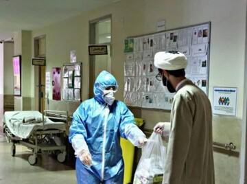 فعالیت جهادی طلاب مدرسه عبدالعظیم(ع) در بیمارستان ها+ عکس