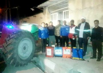 نیمنگاهی به فعالیتهای تبلیغات اسلامی شهرستان لالی در مبارزه با کرونا