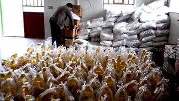 ۱۸۰۰ بسته غذایی و بهداشتی همزمان با آغاز سال جدید در سمنان توزیع شد