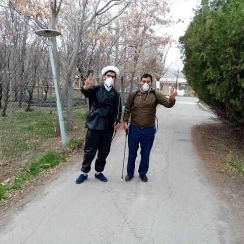 فعالیت های جهادی طلاب آذربایجان شرقی در آخرین روزهای سال ۹۸