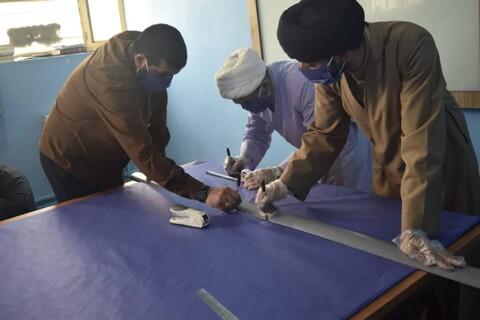 قرارگاه حوزوی مبارزه با کرونا در اندیمشک