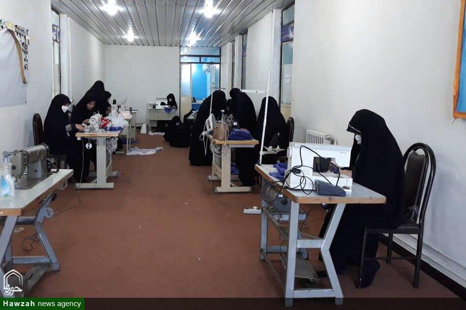 گزارشی از اقدامات جهادی مدرسه علمیه خواهران اندیمشک
