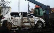 سقوط دو خودرو به داخل گودال در قم باعث مرگ ۳ نفر شد