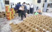 توزیع بستههای حمایتی به همت گردان نهم امام حسین (ع) قم