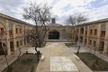 بازدید مجازی از مدرسه تاریخی سردارین قزوین