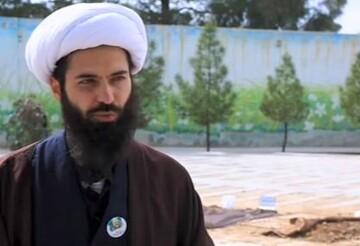 فیلم | دقایقی با طلبه جهادگر حجت الاسلام محمد مداح