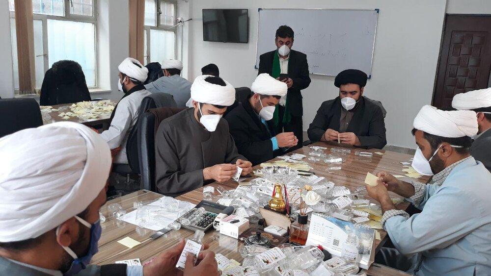 تصاویر/ اقدامات جهادی طلاب و روحانیان خراسان شمالی در مقابله با کرونا