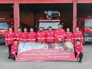 افتتاح سایت آموزشی آتشنشانی قم در سال ۹۹