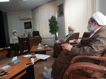 برگزاری جلسه مسئولین ارشد ستاد حوزوی مبارزه با کرونا با آیتالله اعرافی