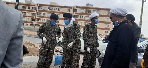 تصاویر/ جهاد طلاب و روحانیون استان سمنان در مبارزه با کرونا