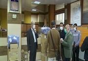 اهدای۱۰ محموله اقلام بهداشتی اتاق بازرگانی و مجمع خیرین سلامت در قم