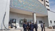بازدید امیرآبادی و دکتر قدیر از بیمارستان در حال احداث امیرالمومنین(علیه السلام)