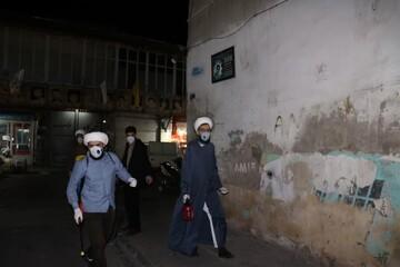 کلیپ | گزارشی از خدمات بسیج طلاب در قرارگاه سلامت منطقه ۱۱ تهران