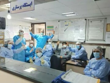 کلیپ | مدافعان سلامت بیمارستان کامکار قم