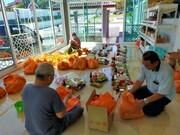 کمک رسانی مسجدی در مالزی به نیازمندان در بحران کرونا