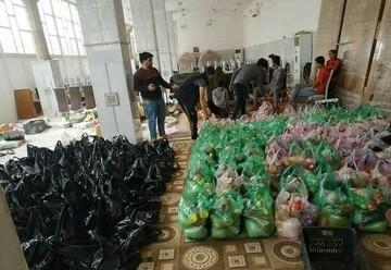 بالصور/ تكاتف العراقيين تلبية لنداء المرجع الديني آية الله السيستاني في مكافحة فايروس كورونا