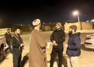 کلیپ | اقدامات جهادی گروه  شباب المهدی فامنین در مقابله با ویروس کرونا