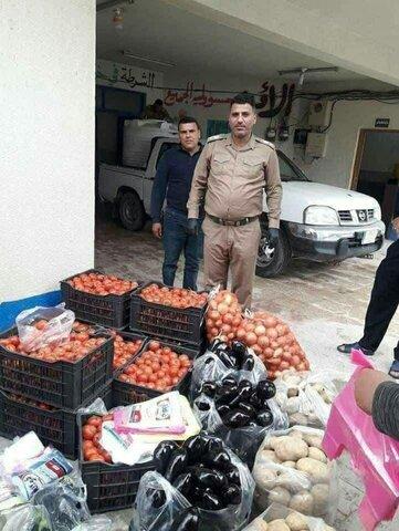 لبیک مردم عراق به درخواست آیت الله سیستانی برای کمک به نیازمندان در بحران کرونا