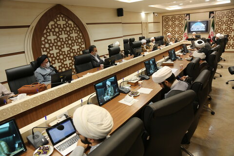 تصاویر/ نشست شورای معاونین و ستاد بحران و حوادث غیر مترقبه حوزههای علمیه