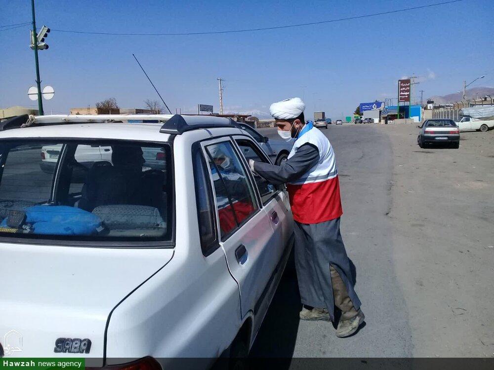 تصاویر/ اقدامات جهادی طلاب و روحانیان تبریزی در مقابله با کرونا