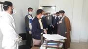 بالصور/ مسؤولو حوزة محافظة لرستان العلمية يتفقدون المراكز الصحية في هذه المحافظة