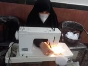 تصاویر / فعالیت جهادی طلاب خواهر مدرسه علمیه صادقیه تبریز