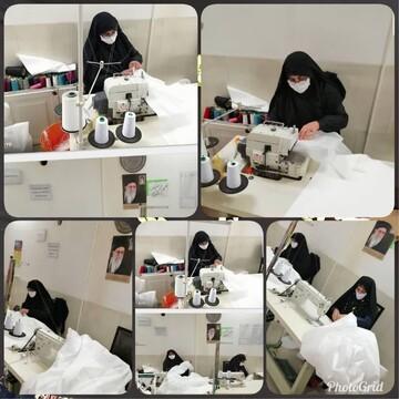 فیلم | حوزه علمیه خواهران یزد در خط جهاد برای سلامت جامعه