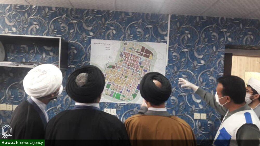 تصاویر/ بازدید مسئولان حوزه علمیه لرستان از مراکز بهداشتی