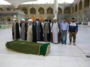 یکی از علمای نجف اشرف دار فانی را وداع گفت