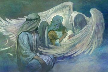 اثر تازه حسن روحالامین به مناسبت ولادت حضرت سیدالشهدا (ع)