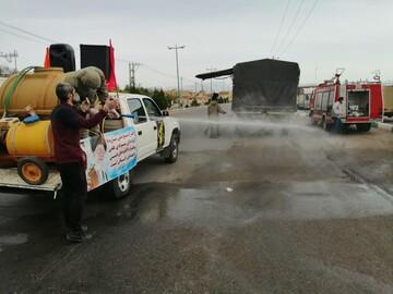 تصاویر/ رزمایش پدافند میکروبی در سراسر استانی یزد