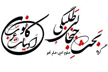 ارائه آموزش ادبیات عرب و بحث طلبگی در فضای مجازی