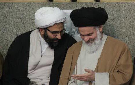 آیت الله حسینی بوشهری و حجت الاسلام والمسلمین رحیمی صادق
