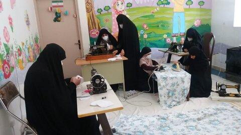 اقدامات حوزه علمیه خواهران استان همدان در مبارزه با کرونا