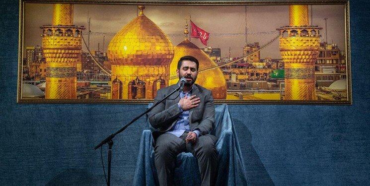صوت   مولودی خوانی حسین طاهری/ آب زنید راه را هین که نگار میرسد