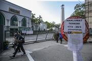 تعطیلی مساجد در پنانگ مالزی ۱۵ روز دیگر تمدید شد