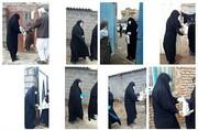 جهاد خدمت رسانی گروه نرجسیون در نقطه صفر مرزی