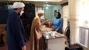 فیلم | روحانیون سمنانی پای کار مبارزه با ویروس کرونا