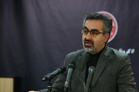 کیانوش جهانپور، سخنگوی وزارت بهداشت