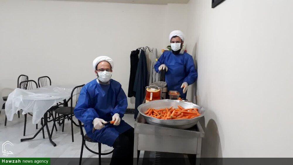 فعالیت های طلاب جهادی آذربایجان شرقی در مبارزه با ویروس کرونا