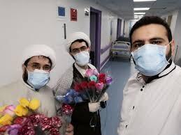 مولودی خوانی اعیاد شعبانیه در بیمارستان فرقانی قم