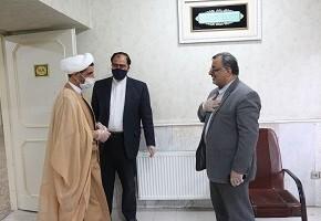 دیدار مدیرکل بنیاد شهید وامور ایثارگران قم با تعدادی از جانبازان