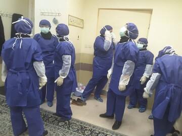 فعالیت بانوان جهادگر در بیمارستان ها در کاهش آلام کرونا بسیار مؤثر بوده است