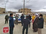 بازدید امام جمعه تکاب از طرح فاصلهگذاری اجتماعی+ عکس